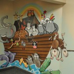 Noah's Ark Mural (Church)