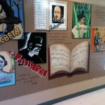 Fine Arts Wall in School